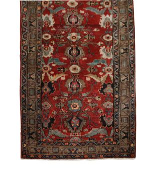Handmade Persian Meshkin Long Rug / Runner